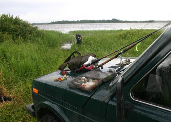 рыбалка на вережуни